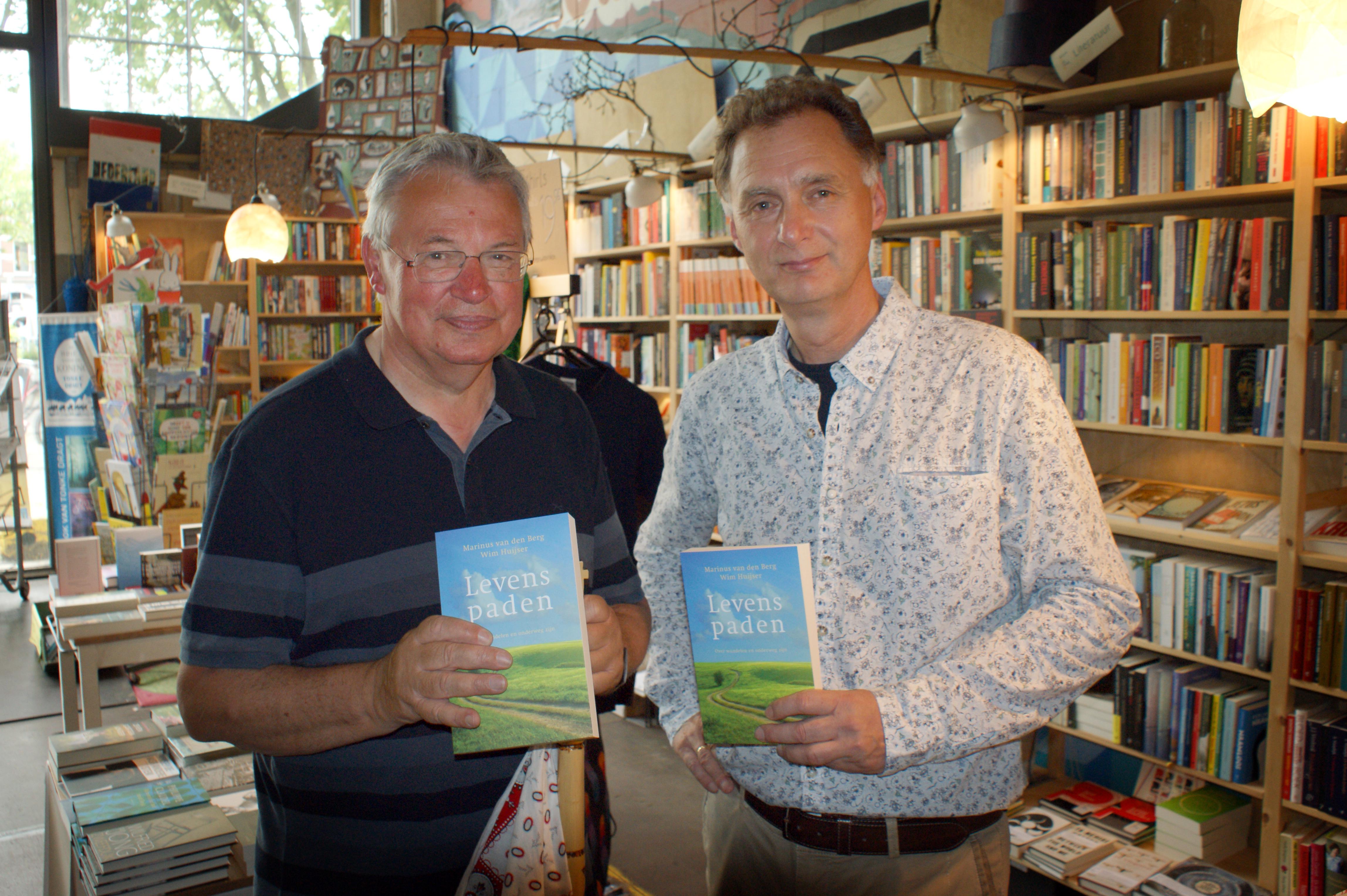 Marinus van den Berg en Wim Huijser, auteurs van Levenspaden