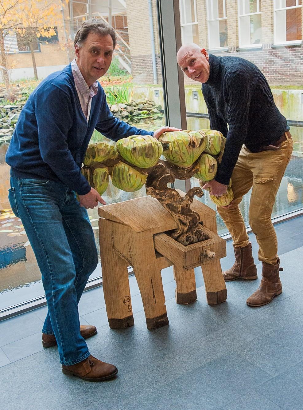 Wim Huijser en Emile van der Kruk in Het Depot, Wageningen